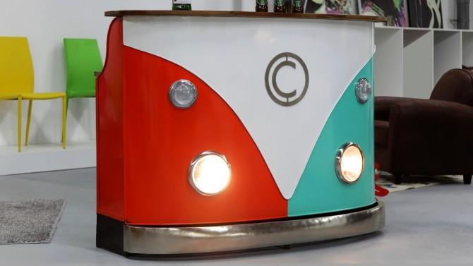 Bar combi design multicolore - Milo