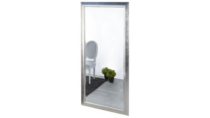 Miroir moderne gris argenté - Vito