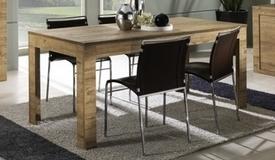 Table à dîner à rallonge en bois - Karel
