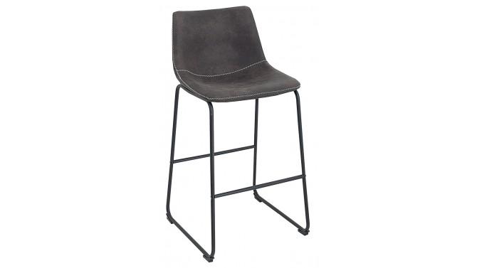 Chaise de bar moderne tissu microfibre - Sergio