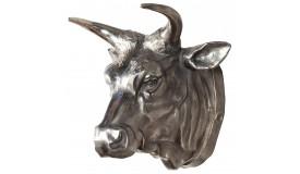 Trophée décoratif tête de taureau - Marius