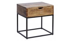 Chevet ou table d'appoint en bois massif - Reece