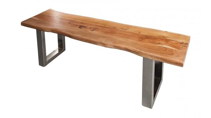 Banc design bois d'acacia - Lawson