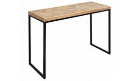 Console design bois massif et métal - Padrig