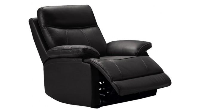 Fauteuil relax design en cuir - Léon