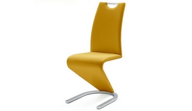 Chaise design simili cuir - Pavel