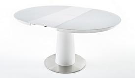 Table ronde extensible en verre - Kapil