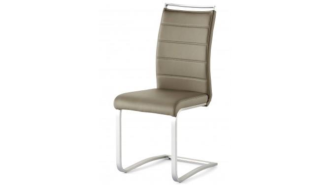 Chaise simili cuir design avec poignée - Stow