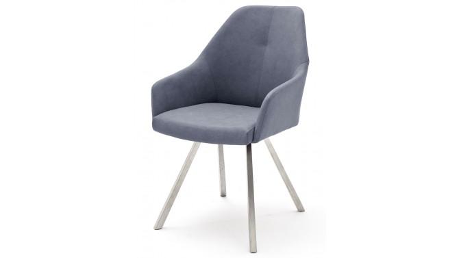 Chaise moderne 4 pieds en simili cuir - Thor