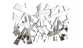 Grand miroir design à facettes - Martin