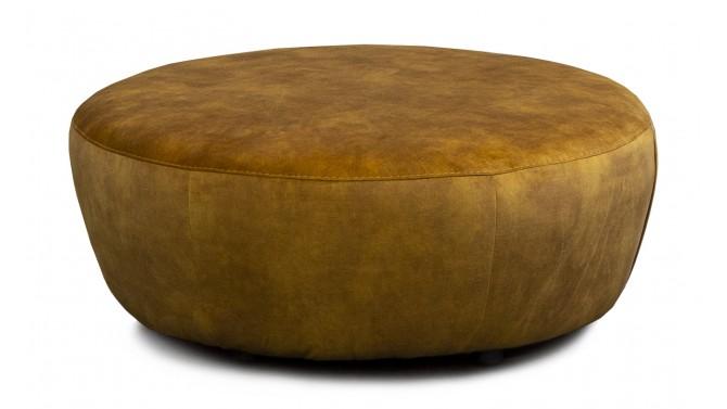 Grand pouf design velours - Oria