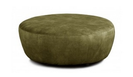 Grand pouf design velours - Oria