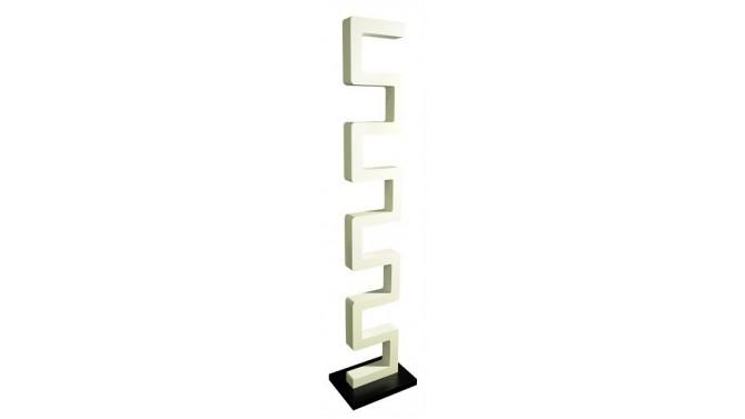 tag re zagan finition laqu e blanche et socle de couleur. Black Bedroom Furniture Sets. Home Design Ideas