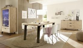 Salle à manger complète design en bois - Vram
