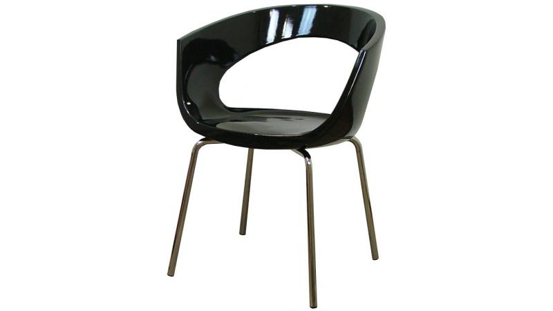 chaise de cuisine bury en plastique abs de couleur gdegdesign. Black Bedroom Furniture Sets. Home Design Ideas