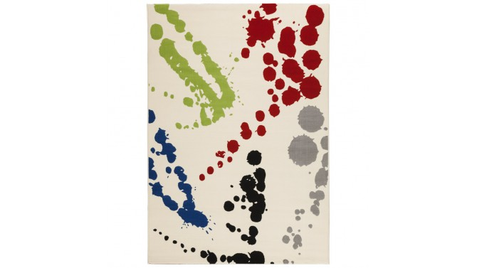 Grand tapis rectangle multicolore - Clifton