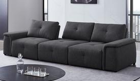 Canapé design tissu 3 places modulable - Kamilo
