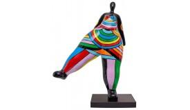 Statue design femme multicolore - Milla