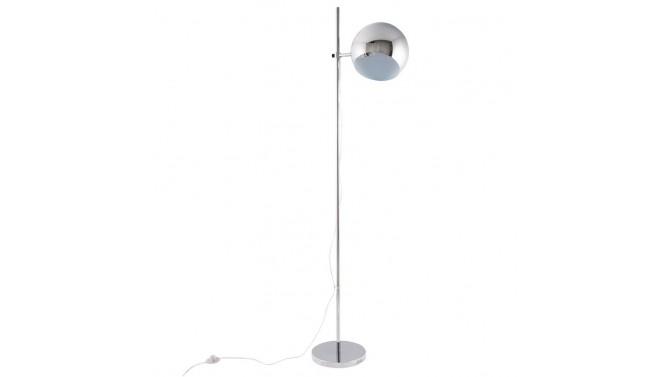 Luminaire sur pied design en métal chromé - Keops