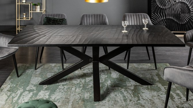 Table à dîner rectangle en bois - Piran
