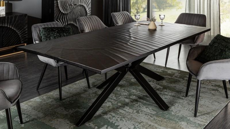 Salle à manger complète bois gris - Piran