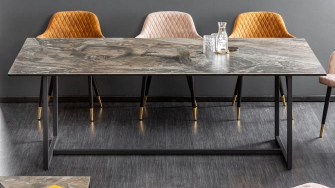 Table à manger design céramique - Baldo