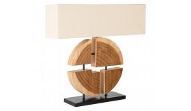 Lampe de table moderne en bois - Tao