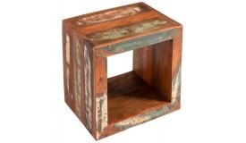 Table d'appoint ou chevet en bois - Ajay