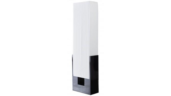 Lampadaire moderne blanc et noir - Mark