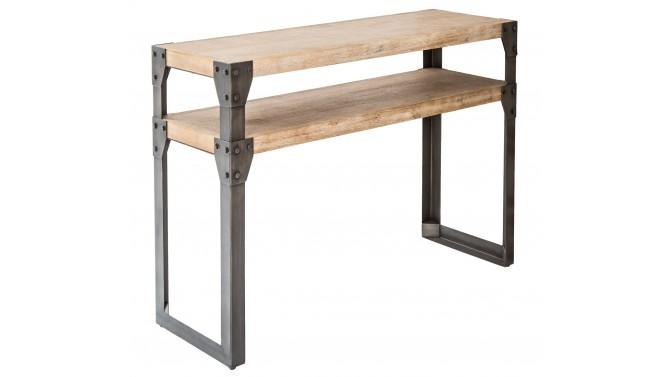 Console industrielle design bois et métal - Jorg