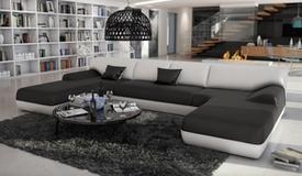 Canapé design en cuir panoramique - Woburn