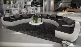 Canapé design en cuir panoramique - Keizer