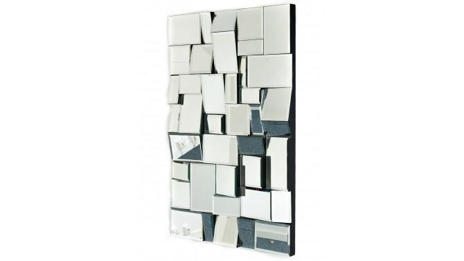 Miroir moderne rectangle à facettes - Nils