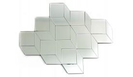 Miroir design à facettes - Berg