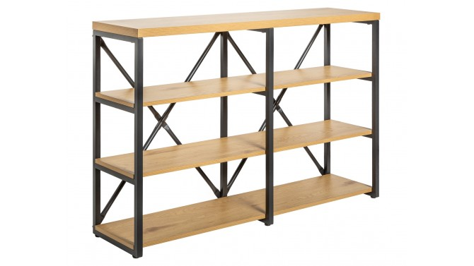 Étagère de rangement en bois et métal - Gosta