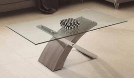 Table basse de salon design en verre - Khosrov