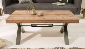 Table de salon industrielle bois - Jack