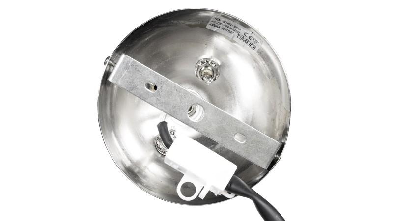 Suspension design electro 4 boules en verre blanc - Suspension boule en verre ...