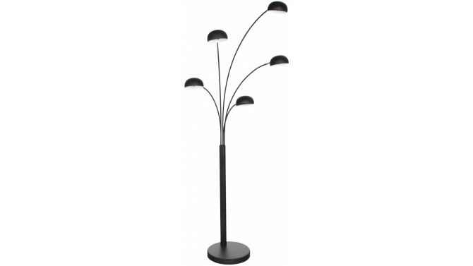 lampadaire design 5 branches en m tal artifice sur pied rond gdegdesign. Black Bedroom Furniture Sets. Home Design Ideas