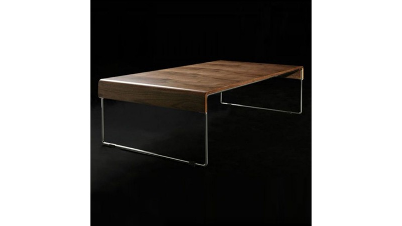 table basse originale et moderne placage noyer atoka gdegdesign. Black Bedroom Furniture Sets. Home Design Ideas