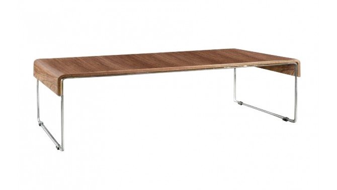Table basse originale et moderne placage noyer atoka gdegdesign - Table salon moderne ...