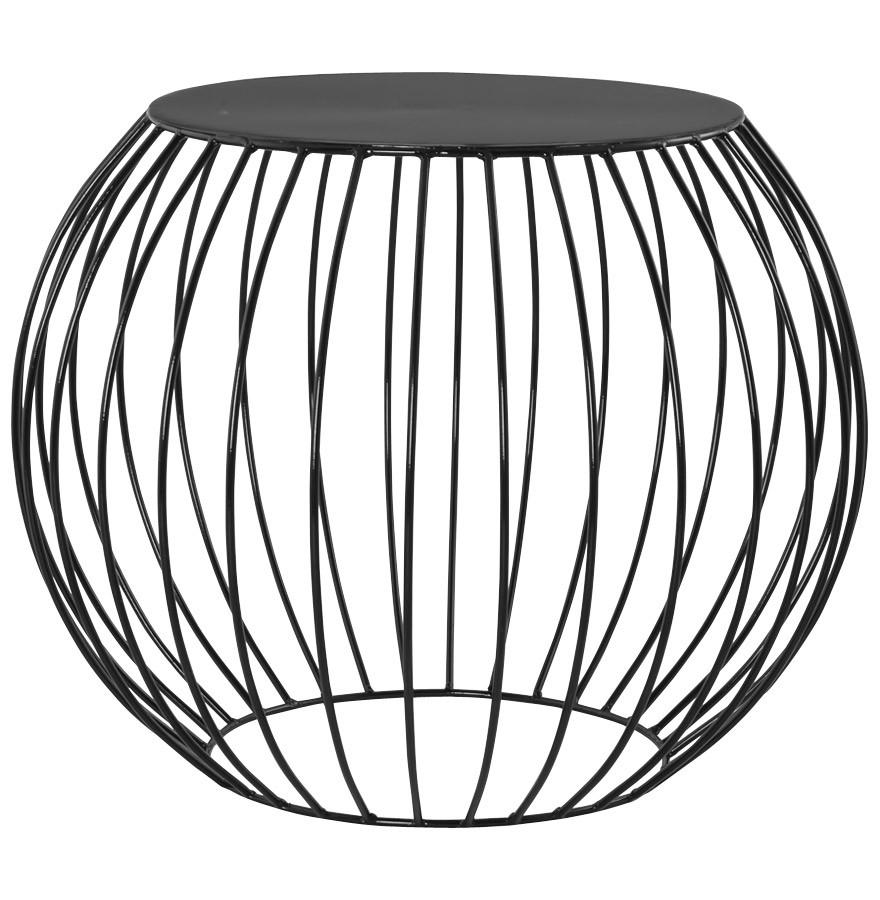 Gdegdesign Noir RondEn Peint Galax Chevet Moderne Métal mn80wvN