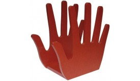Porte-revues tendance en forme de main - Hand
