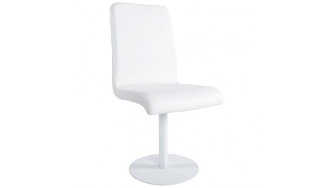 Chaise design en simili cuir - Adair