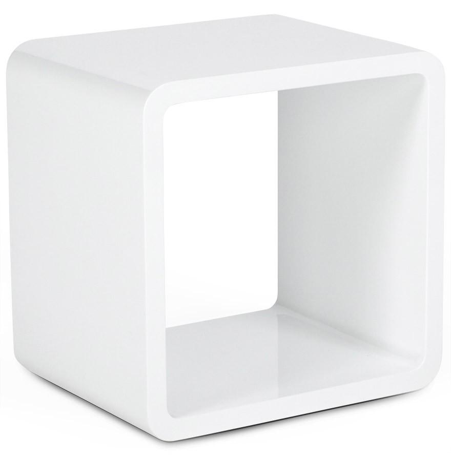 chevet design cube ou table d'appoint laquée acton - gdegdesign
