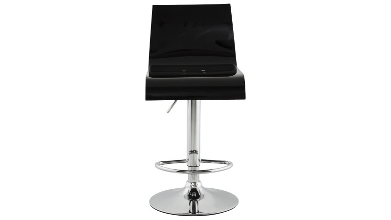 tabouret design original en plexiglas glazov pivotant. Black Bedroom Furniture Sets. Home Design Ideas