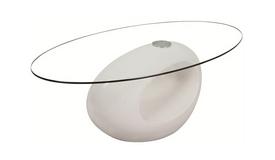 Table basse avec plateau en verre - Vienne
