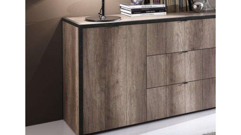 bahut industriel bahut industriel pas cher maison design. Black Bedroom Furniture Sets. Home Design Ideas
