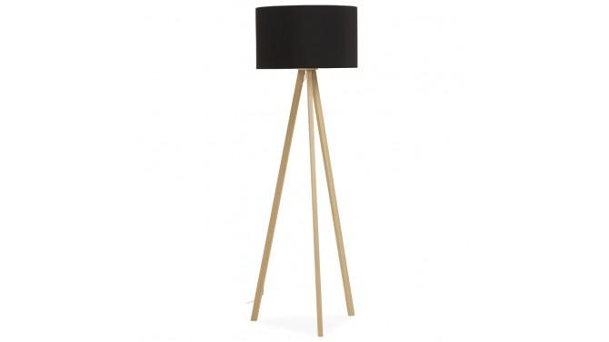 Lampadaire scandinave design tripod avec abat jour makar for Miroir tripod