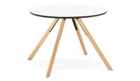 Table de cuisine ronde scandinave - Natz
